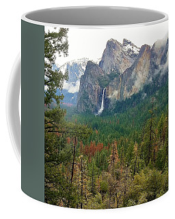 Coffee Mug featuring the photograph Falls In Yosemite B by Phyllis Spoor
