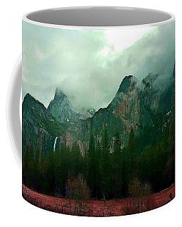 Coffee Mug featuring the photograph Falls In Yosemite D by Phyllis Spoor
