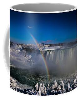 Falls Misty Rainbow  Coffee Mug