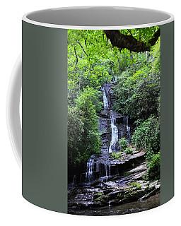 Falls Near Bryson City Coffee Mug
