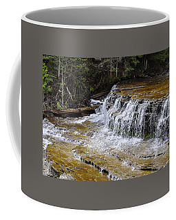 Falls Of The Au Train Coffee Mug