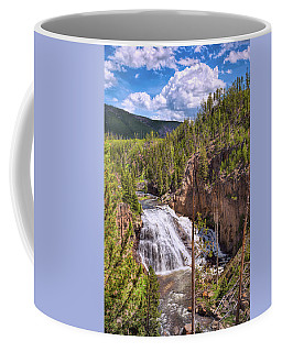 Coffee Mug featuring the photograph Falls Of The Gibbon by John M Bailey