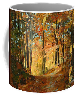 Fall's Radiance In Quebec Coffee Mug