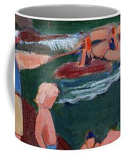 Family At Slide Rock Park Coffee Mug