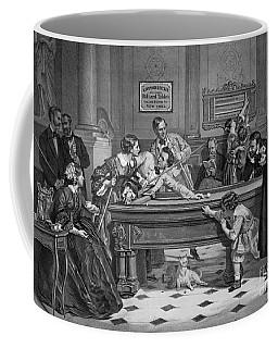 Family Billiards 1891 Coffee Mug by Padre Art