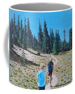 Family Hike Coffee Mug