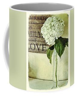 Family, Home, Love Coffee Mug