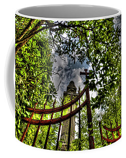 Coffee Mug featuring the photograph Family Mausoleum - Mausoleo Di Famiglia 1 by Enrico Pelos