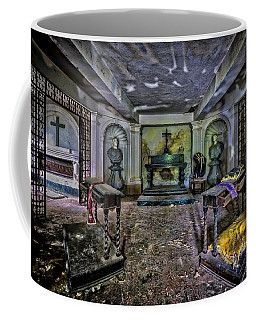Coffee Mug featuring the photograph Family Mausoleum - Mausoleo Di Famiglia 2 by Enrico Pelos