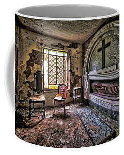 Coffee Mug featuring the photograph Family Mausoleum - Mausoleo Di Famiglia 3 by Enrico Pelos