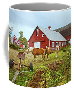 Family On The Farm Coffee Mug