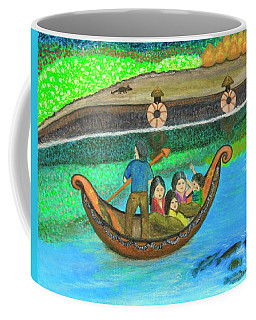 Family Outing Coffee Mug by Lorna Maza