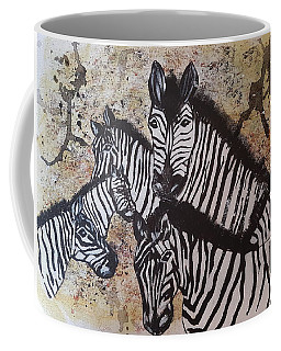 Family Portrait Coffee Mug by Judi Goodwin