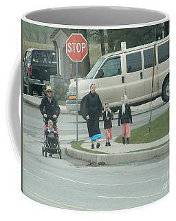 Family Walk Coffee Mug