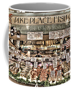 Famous Fish At Pike Place Market Coffee Mug