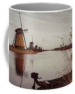 Famous Windmills At Kinderdijk, Netherlands Coffee Mug