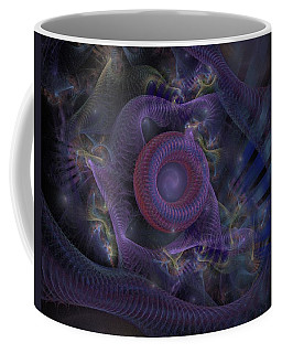 Fan Dancer - Fractal Art Coffee Mug by NirvanaBlues