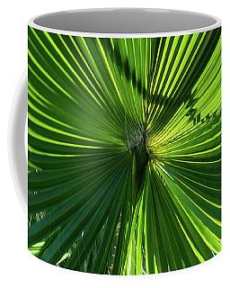 Fan Palm View Coffee Mug by James Gay