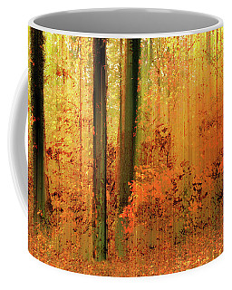 Coffee Mug featuring the photograph Fanciful Forest by Jessica Jenney