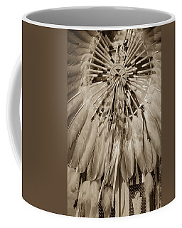 Fancy Dancer Male Sepia Coffee Mug