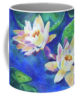 Fancy Waterlilies Coffee Mug
