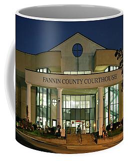 Fannin County Georgia Courthouse Coffee Mug