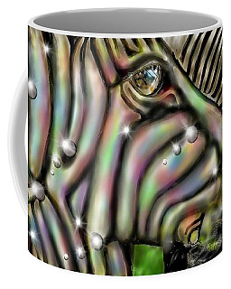 Fantastic Zebra Coffee Mug by Darren Cannell