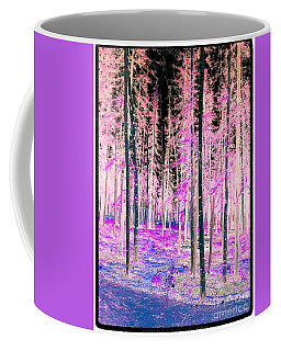 Fantasy Forest Coffee Mug by Linda Bianic
