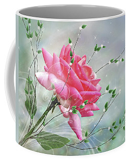 Fantasy Rose Coffee Mug by Nina Bradica