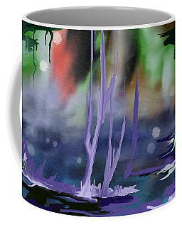 Coffee Mug featuring the painting Fantasy With A Touch Of Reality by Rushan Ruzaick