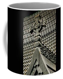 Coffee Mug featuring the photograph Fantoft Stavkirke by KG Thienemann