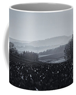 Far Away, The Misty Mountains Cold Coffee Mug