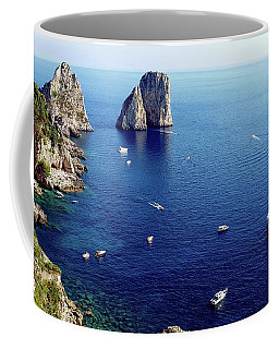 Faraglioni Rocks, Isle Of Capri Coffee Mug