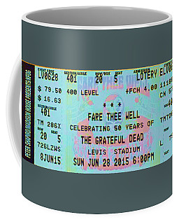 Coffee Mug featuring the photograph Fare Thee Well by Susan Carella