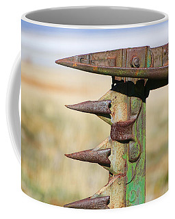 Coffee Mug featuring the photograph Farm Equipment 1 by Ely Arsha