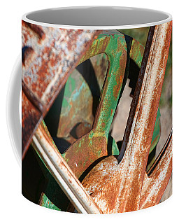 Coffee Mug featuring the photograph Farm Equipment 2 by Ely Arsha