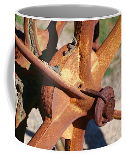 Coffee Mug featuring the photograph Farm Equipment 3 by Ely Arsha