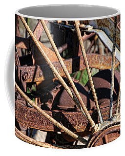 Coffee Mug featuring the photograph Farm Equipment 5 by Ely Arsha