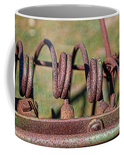Coffee Mug featuring the photograph Farm Equipment 7 by Ely Arsha