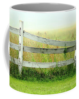 Farm Fence Coffee Mug