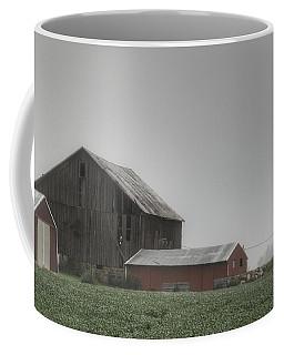 0011 - Farm In The Fog II Coffee Mug