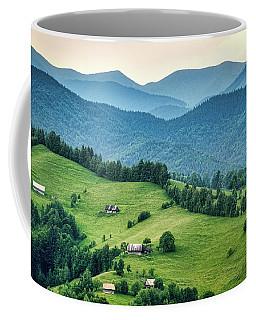 Farm In The Mountains - Romania Coffee Mug