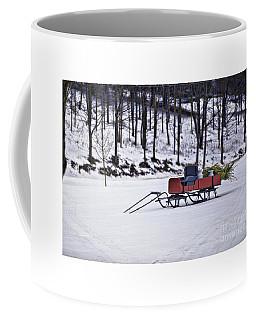 Farm Sleigh Coffee Mug by Nicki McManus