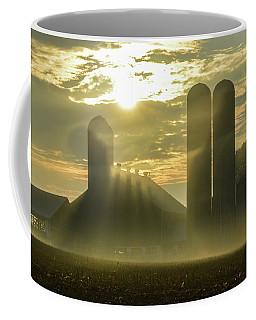 Farm Sunrise #3 Coffee Mug