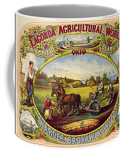 Farm Tools Ad 1859 Coffee Mug by Padre Art