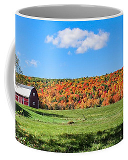 Farm View From Russellville Road Coffee Mug