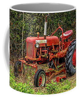Coffee Mug featuring the photograph Farmall Cub by Christopher Holmes