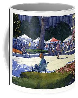 Farmers Market, Madison Coffee Mug