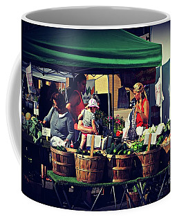 Farmers Market Produce  Coffee Mug