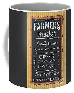 Farmer's Market Signs Coffee Mug